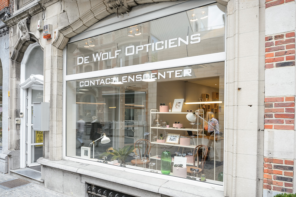 De wolf opticiens for Interieur leuven